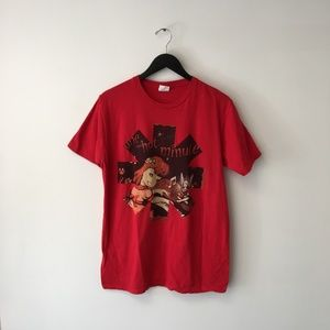 Red Hot Chili Peppers Tour Graphic Band Tee